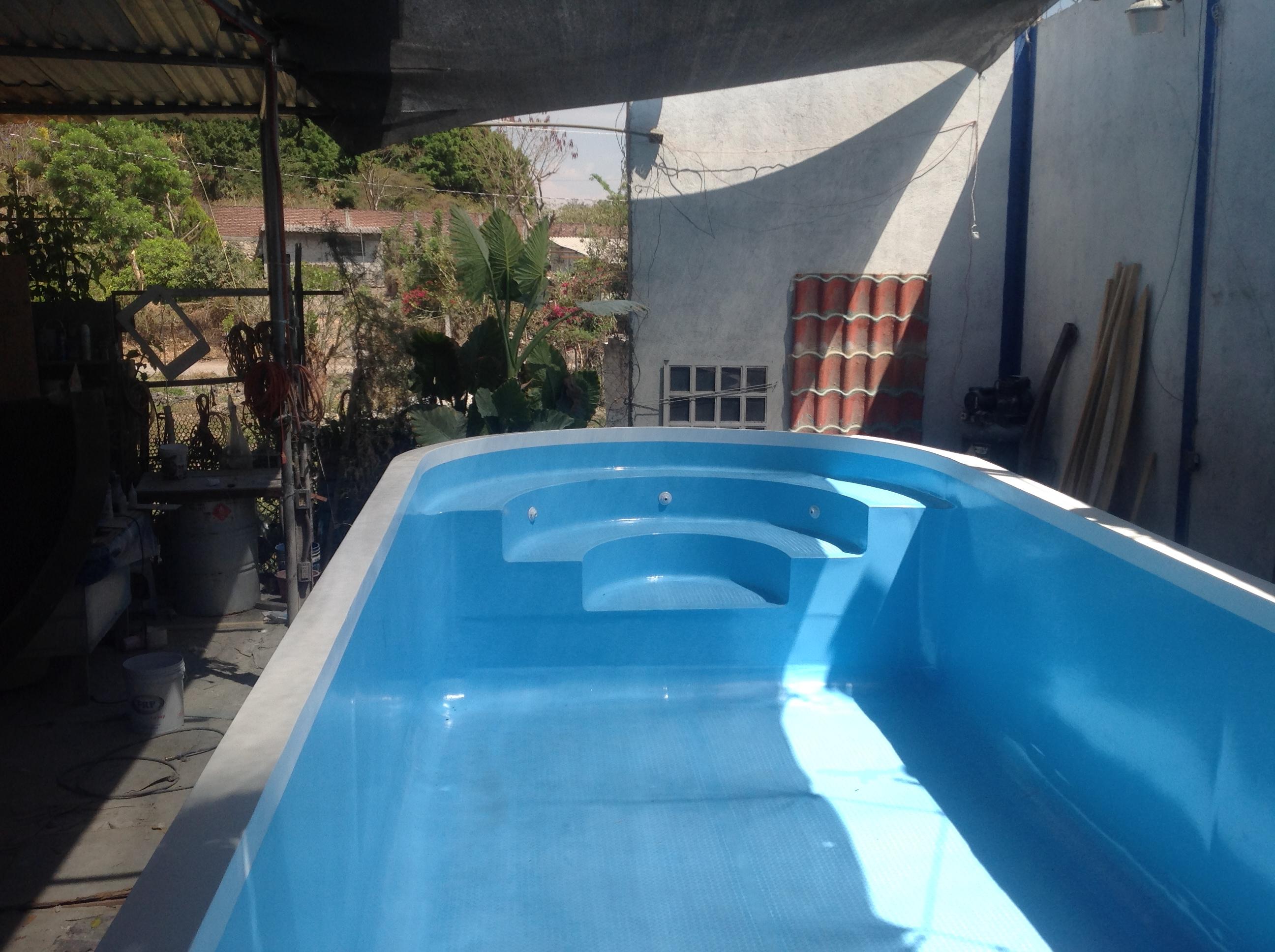 Albercas de fibra albercas y servicios del sol for Construccion de albercas en mexico