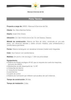 Ficha Técnica Oaxaca1